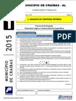 Prova - Analista de Controle Interno - Tipo 1