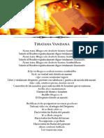 03 El Tiratana Vandana