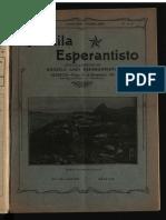 Brazila Esperantisto, Januaro-februaro 1922