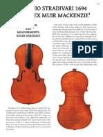 Stradivari Mackenzie