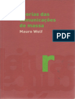 Livro Teorias da Comunicação - Mauro Wolf