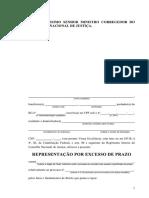 Modelo de Representacao CNJ Por Excesso de Prazo