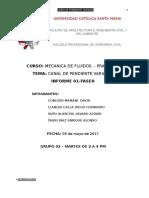 Informe Canal de Pendiente Variable 2017