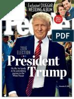 People USA - 21 November 2016