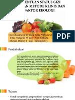 Penentuan Status Gizi Dengan Metode Klinis Dan Faktor.pptx