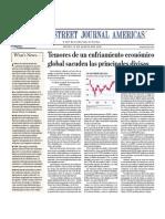 Temores de enfríamiento económico global sacuden las principales divisas