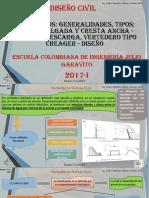 1. Presentacion No. 4-Vertederos Hidráulicos - Clase No. 4 - 2017-i (2)