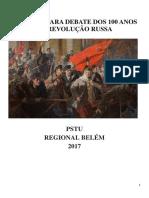 Apostila Para Debates Sobre Os 100 Anos Da Revolução Russa