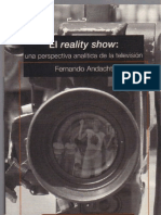 El Reality Show- F. Andacht