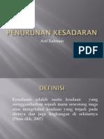 Penurunan Kesadaran Arif Rahman