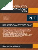 Desain Sistem Perawatan Mesin Diesel