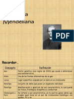 5.-Genetica Mendeliana 2014.Ppt