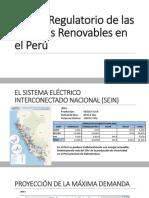 Marco Regulatorio de Las Energías Renovables