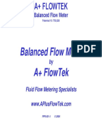 PPR-501-1 A+ FlowTek Presentation