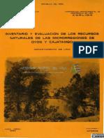Flora y Fauna Cajatambo y Oyon