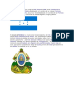 Simbolos Patrios Honduras Nicaragua Costa Rica