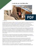 Una Barriada Nueva Cada Día, Por José Matos Mar _ Columnistas _ Opinión _ El Comercio Peru