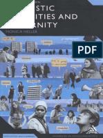 heller Monica Linguistic Minorities and Modernity