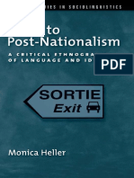 heller Monica Paths to Post Nationalism a Critical Ethnograp