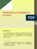Morfologia y Regimen de Los Rios