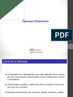 Clase Opciones FINANCIERAS