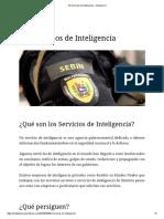 Servicios de Inteligencia
