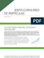 Movimiento Curvilineo de Partículas