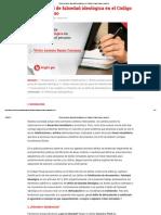 El Tipo Penal de Falsedad Ideológica en El Código Penal Peruano _ Legis