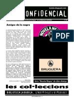 """L'H Confidencial, 114. Sèrie """"Novela Negra"""" de Libro Amigo de Bruguera"""