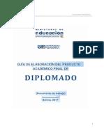 GUIA Elaboracion DIPLOMADO Oficial 2017