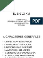 2. EL SIGLO XVI