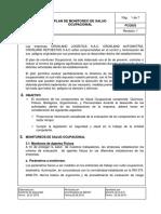 PCQ003 - Plan de Monitoreo de Salud Ocupacional
