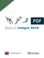 Reporte Fundación Integra