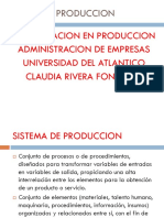 Coceptos de Produccion