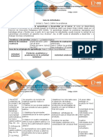 Guía de Actividades y Rúbrica de Evaluación Fase 2 Definir Los Problemas