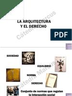 GT03 Arquitectura y Derecho