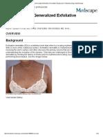 Erythroderma (Generalized Exfoliative Dermatitis)_ Background, Pathophysiology, Epidemiology