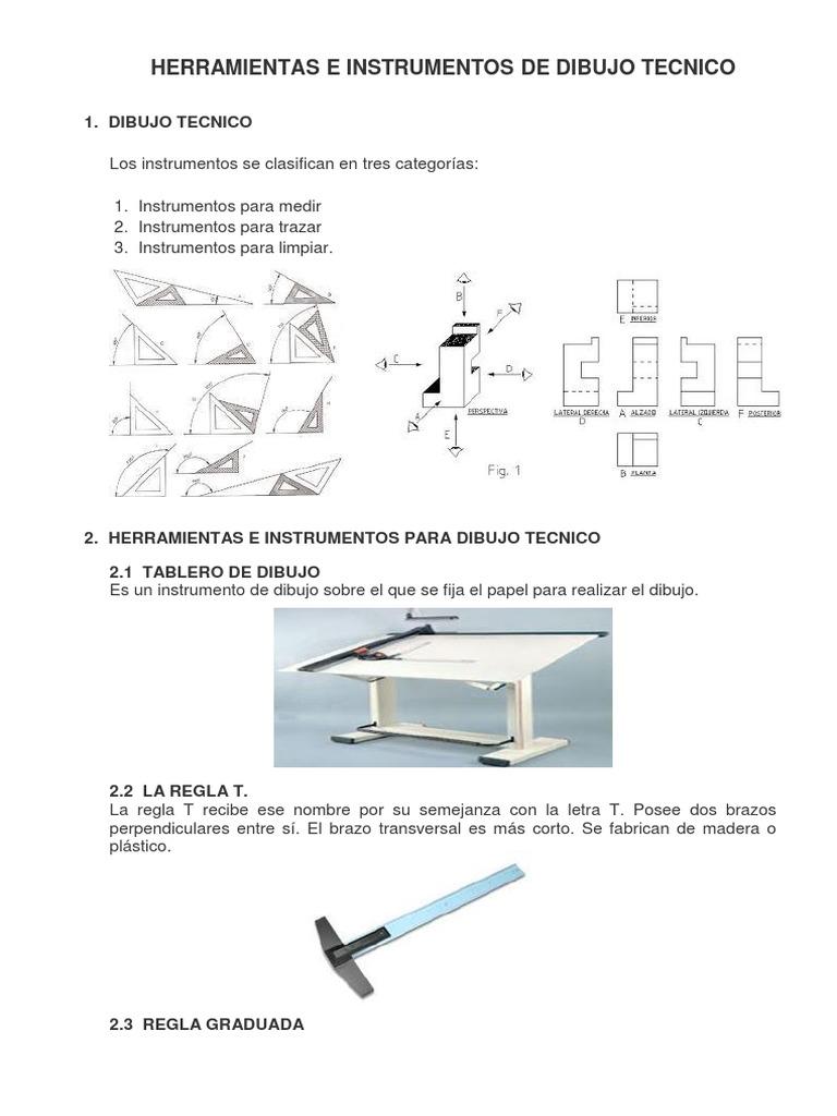 HERRAMIENTAS DE DIBUJO TECNICOdocx