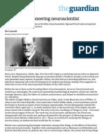Freud Was a Pioneering Neuroscientist _ Science _ the Guardian