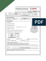 Formulário Canon - C5030