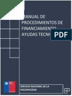Manual de Procedimiento Ayudas Técnicas 2017
