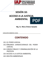 Sesion 10 - Acceso a La Justicia Ambiental