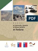 Manual de Construccion y Operacion de Rellenos Sanitarios en Honduras