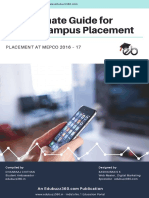 The Guide to Mepco Campus Placement