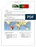 PLE Fonética - Português no mundo