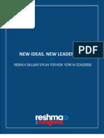 Reshma - Blueprint for New York
