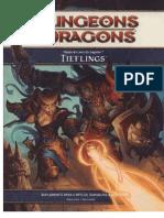 D&D 4E - Raças do Livro do Jogador - Tiefling