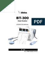 BT-300 OP Manual(OPM(BT-300)EN(Rev.06.01))
