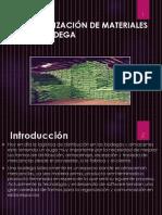 3.1 Organizacion de Los Materiales en Una Bodega