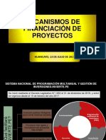 A Mecanismos de Financiación de Proyectos